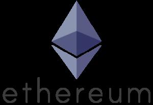 Blockchain platform Ethereum logo