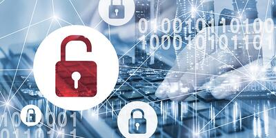 Data security banner graphic