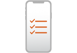 Complete optional data icon