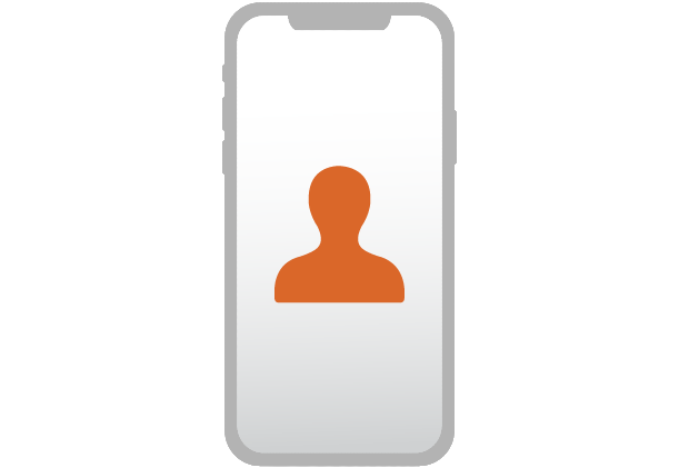 Mobile onboarding icon