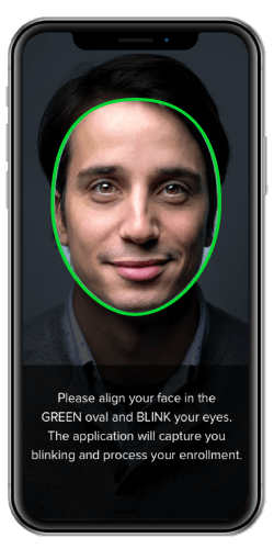 Face recognition demo selfie